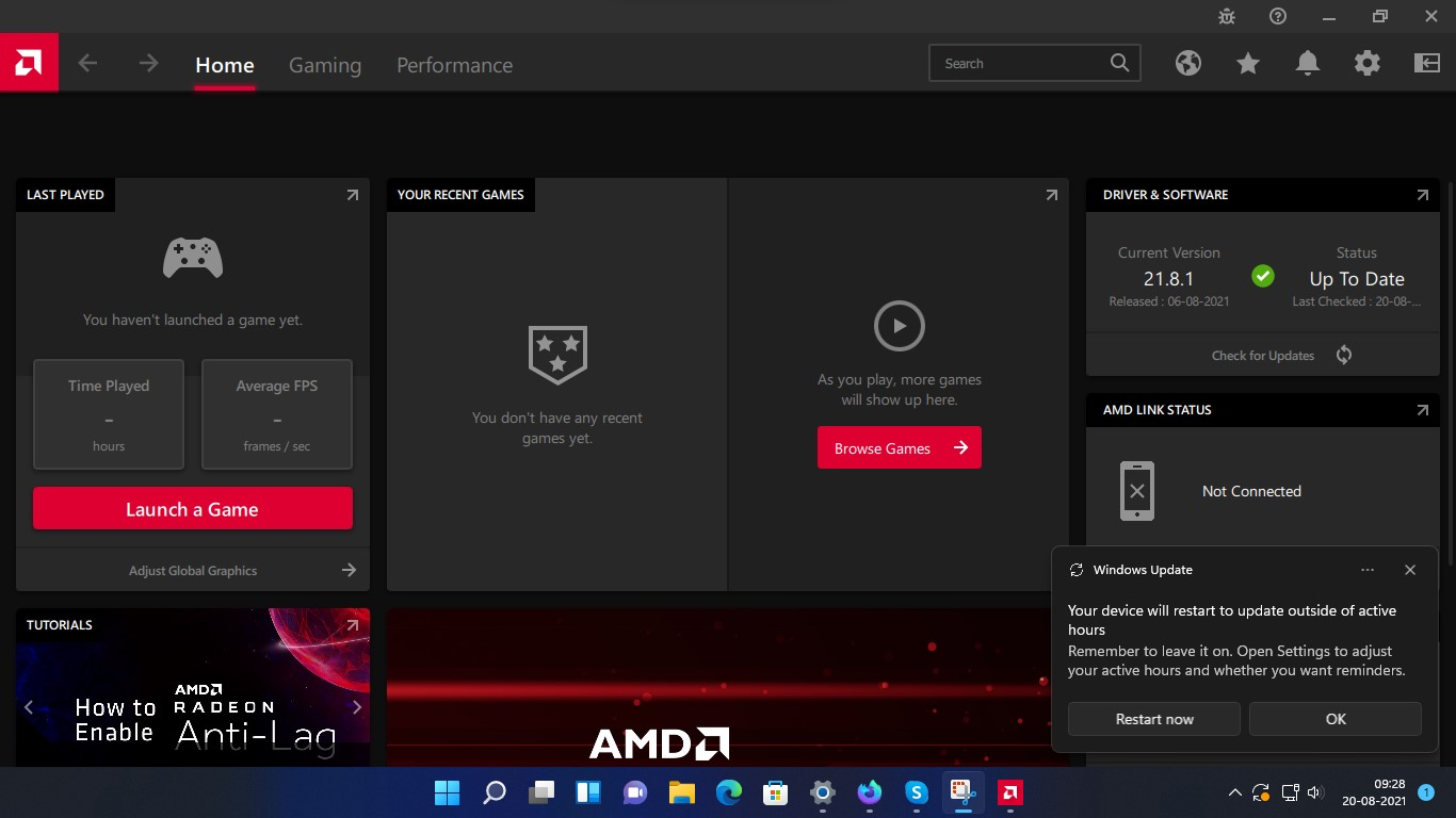 Driver and Software in AMD